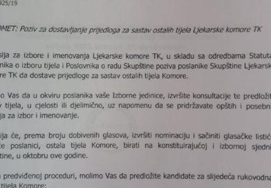 Izbori u Ljekarskoj komori TK – II krug