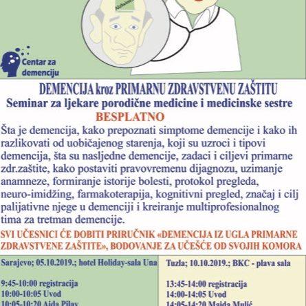 Demencija kroz primarnu zdravstvenu zaštitu