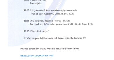 Webinar u organizaciji Bosnalijeka